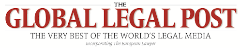 The Global legal post logo
